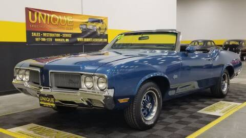 1970 Oldsmobile Cutlass for sale at UNIQUE SPECIALTY & CLASSICS in Mankato MN