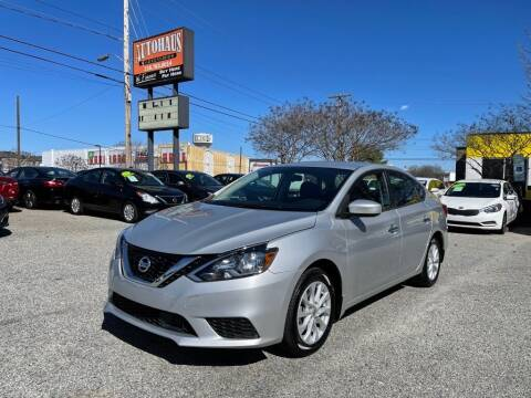 2019 Nissan Sentra for sale at Autohaus of Greensboro in Greensboro NC
