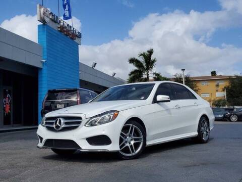 2016 Mercedes-Benz E-Class for sale at Tech Auto Sales in Hialeah FL