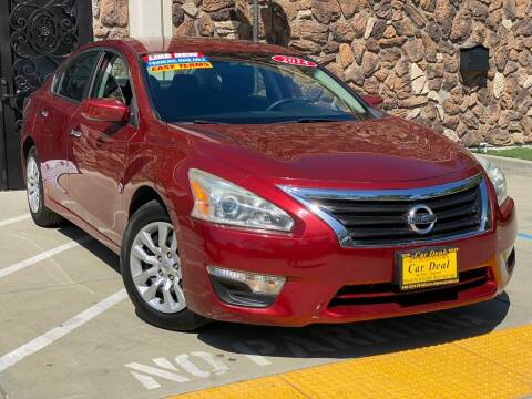 2014 Nissan Altima for sale at Car Deal Auto Sales in Sacramento CA