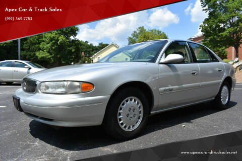 2001 Buick Century for sale at Apex Car & Truck Sales in Apex NC