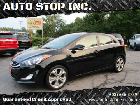 2013 Hyundai Elantra GT for sale at AUTO STOP INC. in Pelham NH