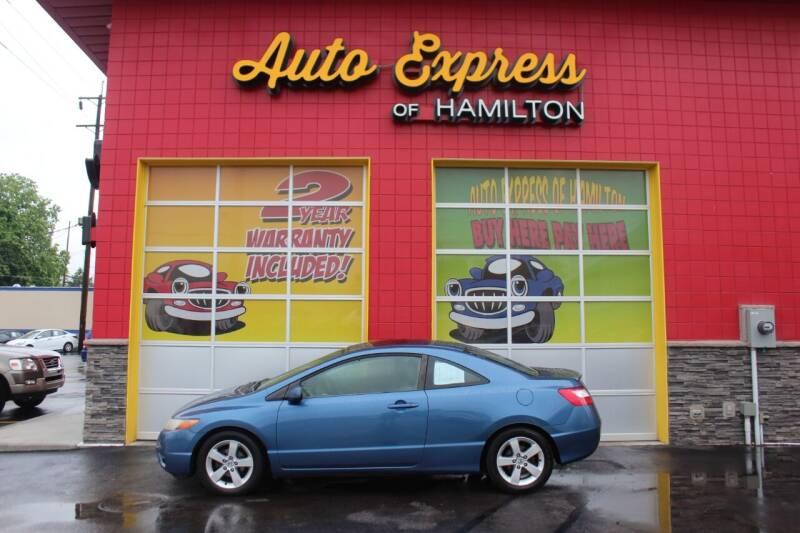 2007 Honda Civic for sale at AUTO EXPRESS OF HAMILTON LLC in Hamilton OH