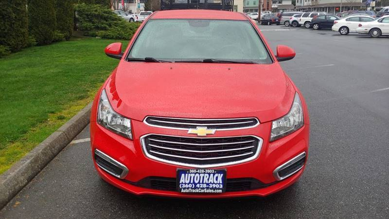 2016 Chevrolet Cruze Limited for sale at AUTOTRACK INC in Mount Vernon WA