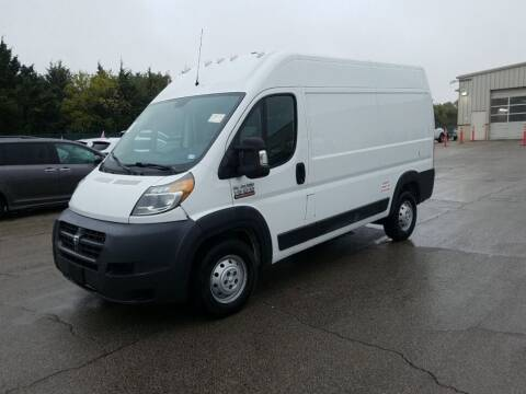 2014 RAM ProMaster Cargo for sale at Lafayette Salvage Inc in Lafayette NJ