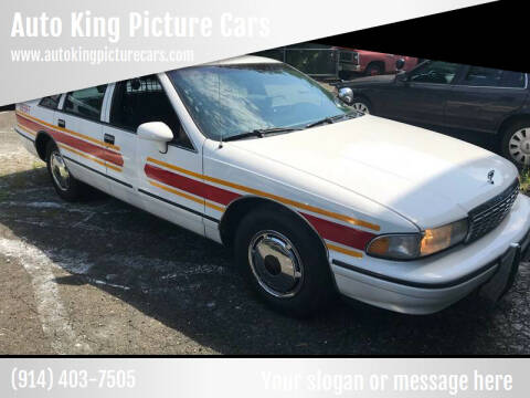 1993 Chevrolet Caprice for sale at Auto King Picture Cars in Westchester County NY
