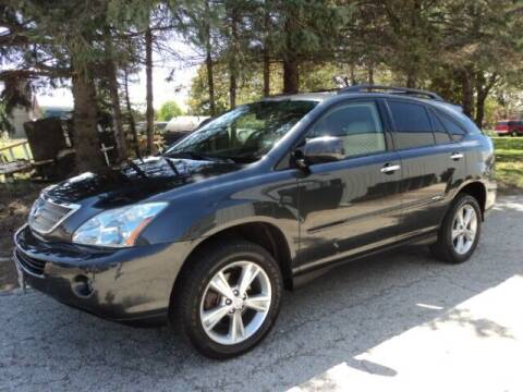 2008 Lexus RX 400h for sale at HUSHER CAR COMPANY in Caledonia WI