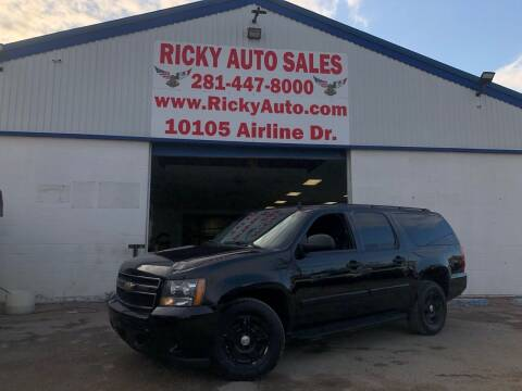 2007 Chevrolet Suburban for sale at Ricky Auto Sales in Houston TX