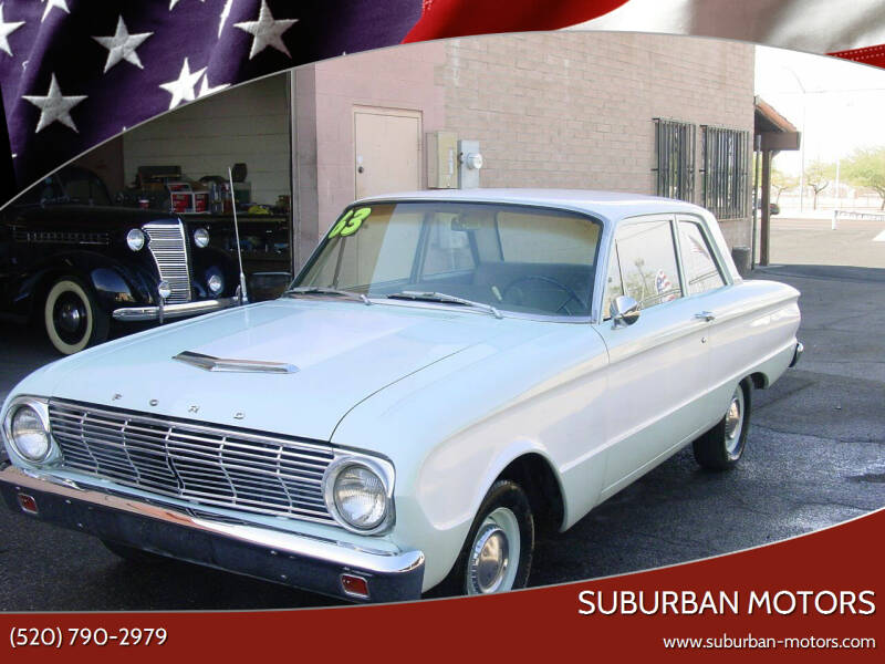 1963 Ford Falcon for sale at Suburban Motors in Tucson AZ