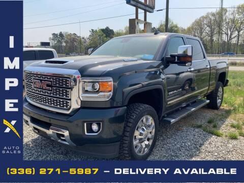 2018 GMC Sierra 2500HD for sale at Impex Auto Sales in Greensboro NC