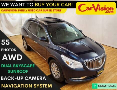 2017 Buick Enclave for sale at Car Vision Mitsubishi Norristown - Car Vision Philly Used Car SuperStore in Philadelphia PA