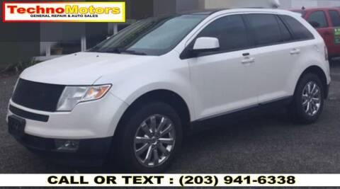 2010 Ford Edge for sale at Techno Motors in Danbury CT