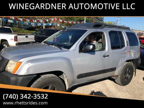 2006 Nissan Xterra for sale at WINEGARDNER AUTOMOTIVE LLC in New Lexington OH