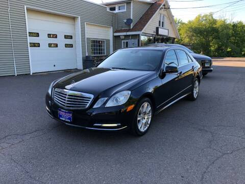 2013 Mercedes-Benz E-Class for sale at Prime Auto LLC in Bethany CT