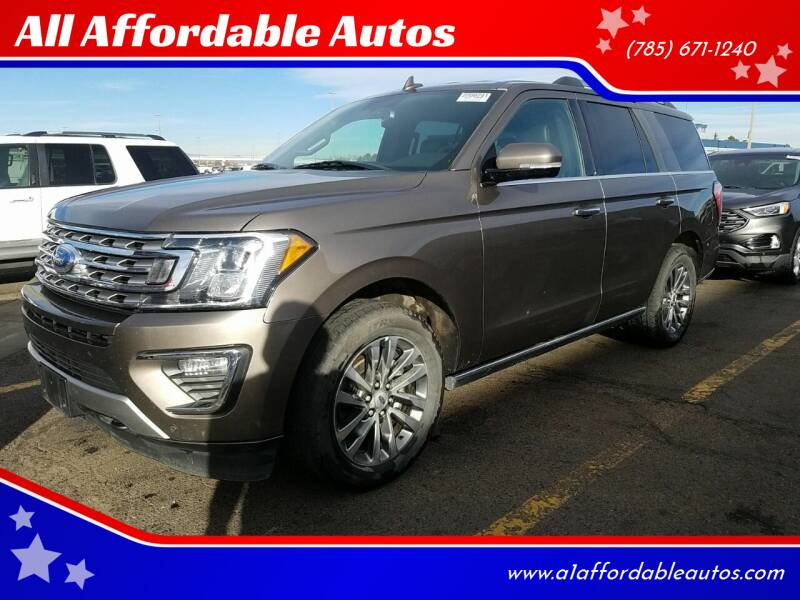 2018 Ford Expedition for sale at All Affordable Autos in Oakley KS