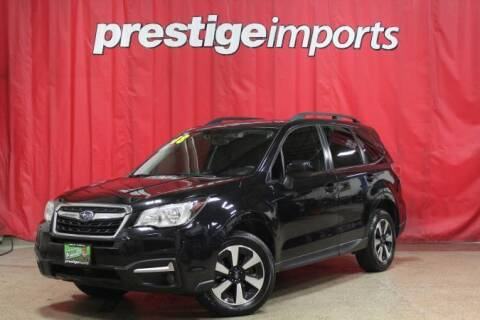 2018 Subaru Forester for sale at Prestige Imports in St Charles IL