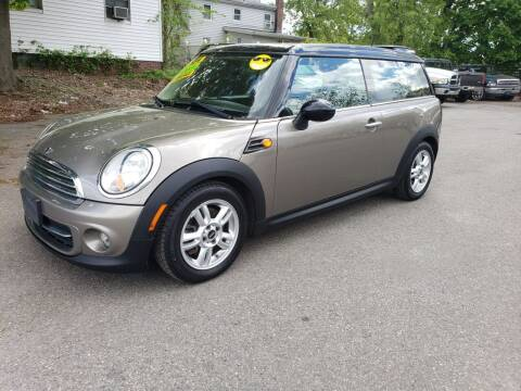 2012 MINI Cooper Clubman for sale at Devaney Auto Sales & Service in East Providence RI