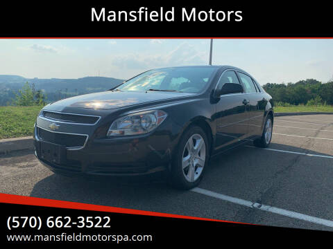 2011 Chevrolet Malibu for sale at Mansfield Motors in Mansfield PA
