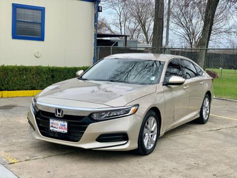 2019 Honda Accord for sale at USA Car Sales in Houston TX