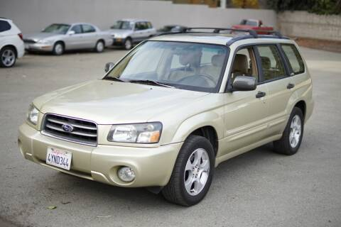 2003 Subaru Forester for sale at Sports Plus Motor Group LLC in Sunnyvale CA