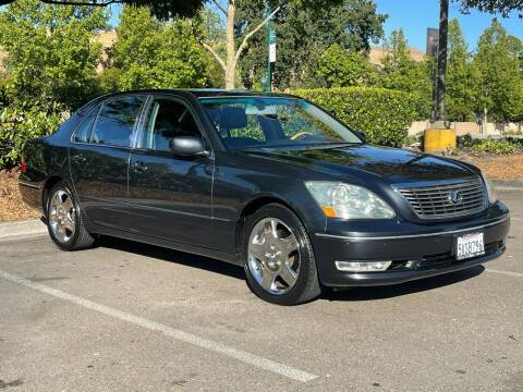 2006 Lexus LS 430 for sale at CARFORNIA SOLUTIONS in Hayward CA