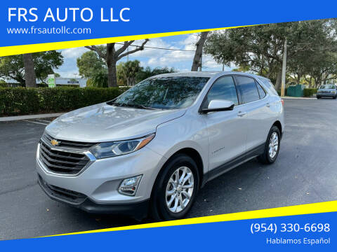 2020 Chevrolet Equinox for sale at FRS AUTO LLC in West Palm Beach FL