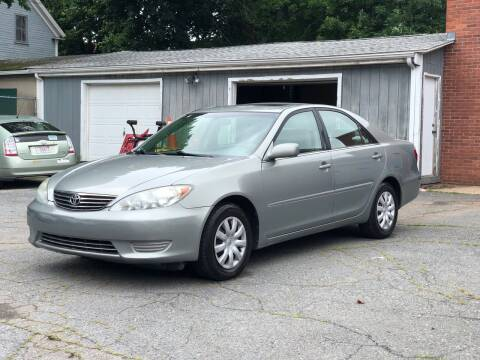 2005 Toyota Camry for sale at Emory Street Auto Sales and Service in Attleboro MA