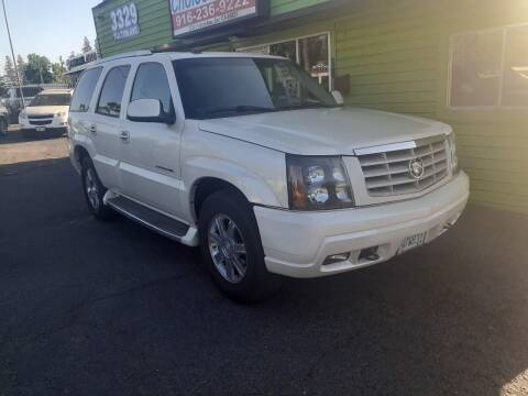 2004 Cadillac Escalade for sale at Amazing Choice Autos in Sacramento CA