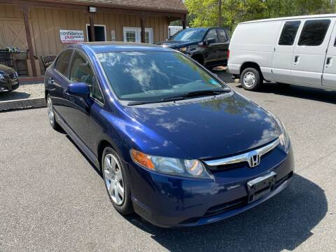 2007 Honda Civic for sale at Suburban Wrench in Pennington NJ