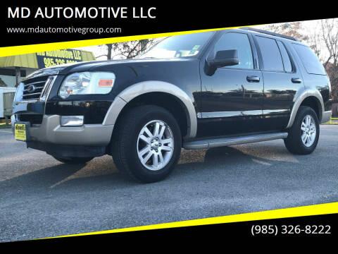 2010 Ford Explorer for sale at MD AUTOMOTIVE LLC in Slidell LA