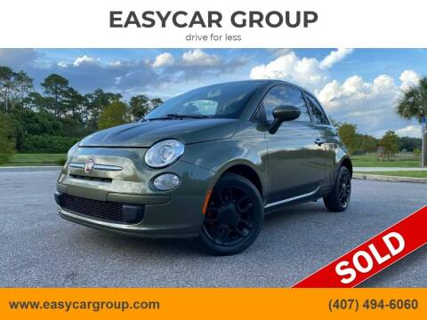 2013 FIAT 500 for sale at EASYCAR GROUP in Orlando FL