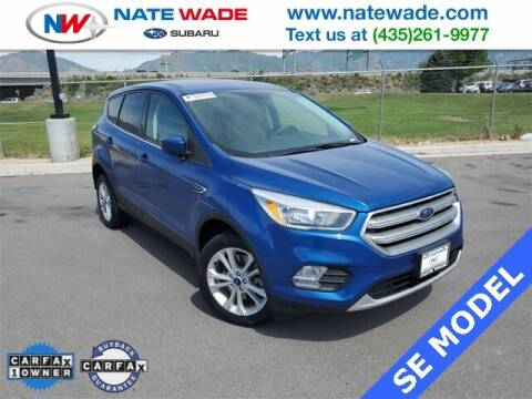 2017 Ford Escape for sale at NATE WADE SUBARU in Salt Lake City UT