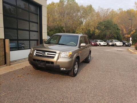 2008 Honda Pilot for sale at Fleet Automotive LLC in Maplewood MN