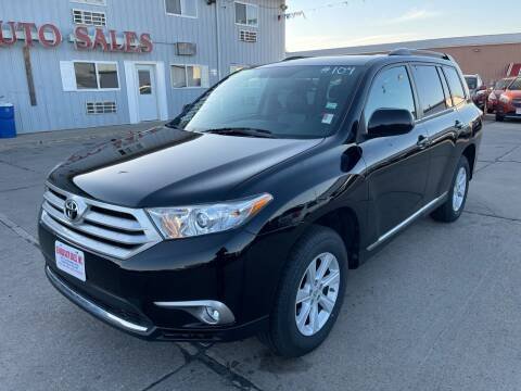 2013 Toyota Highlander for sale at De Anda Auto Sales in South Sioux City NE