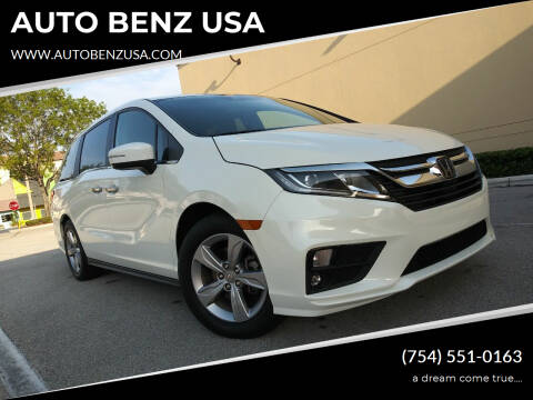2018 Honda Odyssey for sale at AUTO BENZ USA in Fort Lauderdale FL