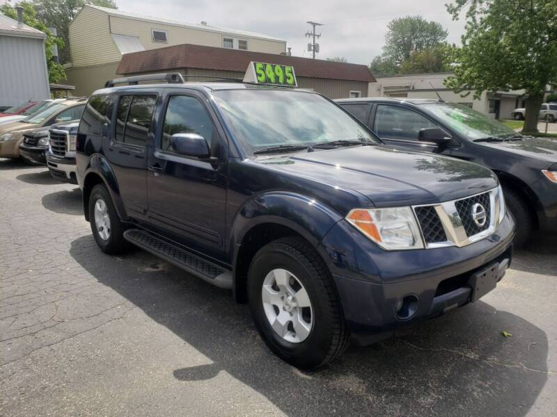 2007 Nissan Pathfinder for sale at Van Kalker Motors in Grand Rapids MI