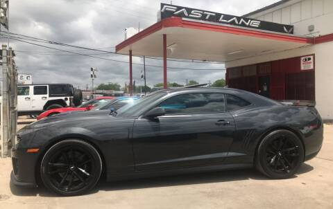 2012 Chevrolet Camaro for sale at FAST LANE AUTO SALES in San Antonio TX