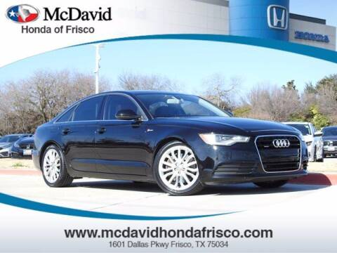 2012 Audi A6 for sale at DAVID McDAVID HONDA OF IRVING in Irving TX