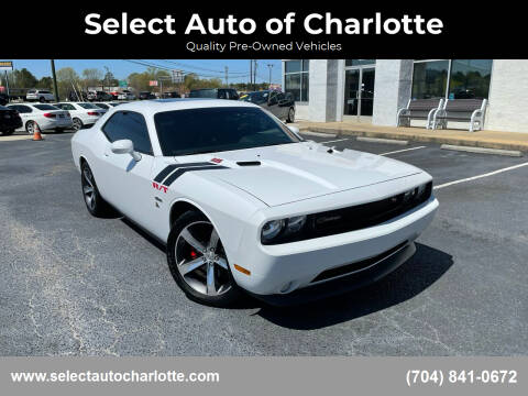 2014 Dodge Challenger for sale at Select Auto of Charlotte in Matthews NC