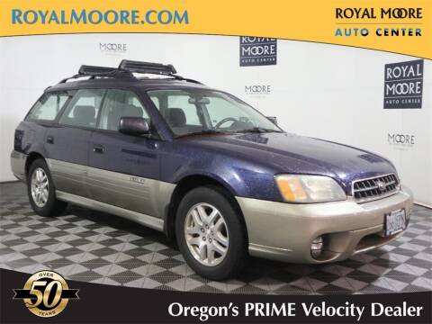 2004 Subaru Outback for sale at Royal Moore Custom Finance in Hillsboro OR