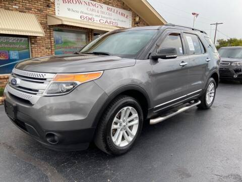 2014 Ford Explorer for sale at Browning's Reliable Cars & Trucks in Wichita Falls TX