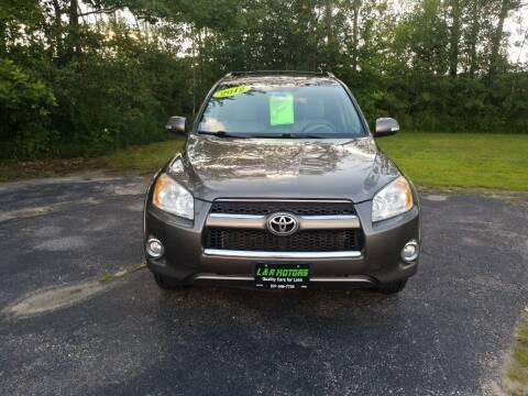 2012 Toyota RAV4 for sale at L & R Motors in Greene ME