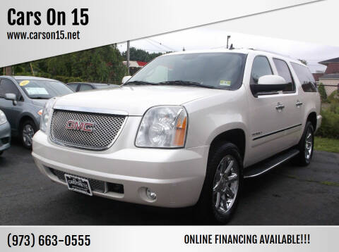 2012 GMC Yukon XL for sale at Cars On 15 in Lake Hopatcong NJ