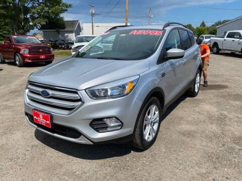 2018 Ford Escape for sale at AutoMile Motors in Saco ME