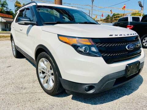 2015 Ford Explorer for sale at Lion Auto Finance in Houston TX