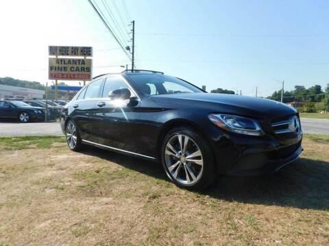 2016 Mercedes-Benz C-Class for sale at Atlanta Fine Cars in Jonesboro GA
