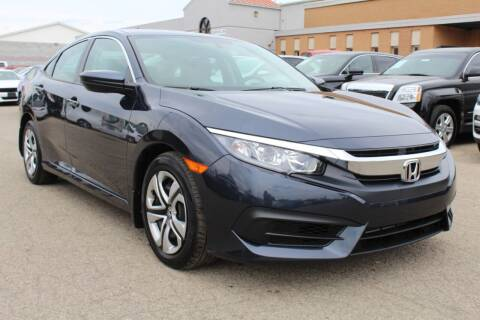 2018 Honda Civic for sale at SHAFER AUTO GROUP in Columbus OH