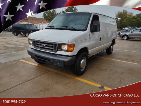 2006 Ford E-Series Cargo for sale at Cargo Vans of Chicago LLC in Mokena IL