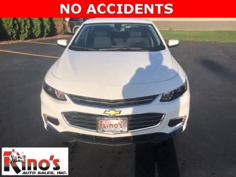 2017 Chevrolet Malibu for sale at Rino's Auto Sales in Celina OH