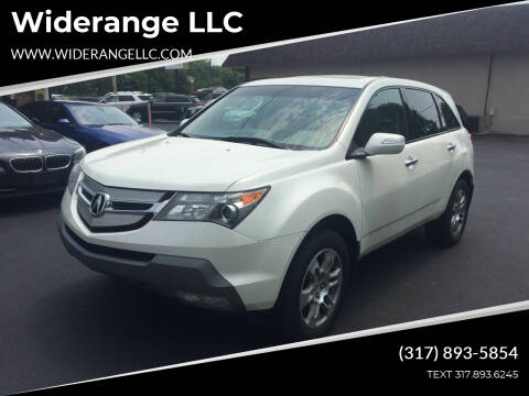 2009 Acura MDX for sale at Widerange LLC in Greenwood IN